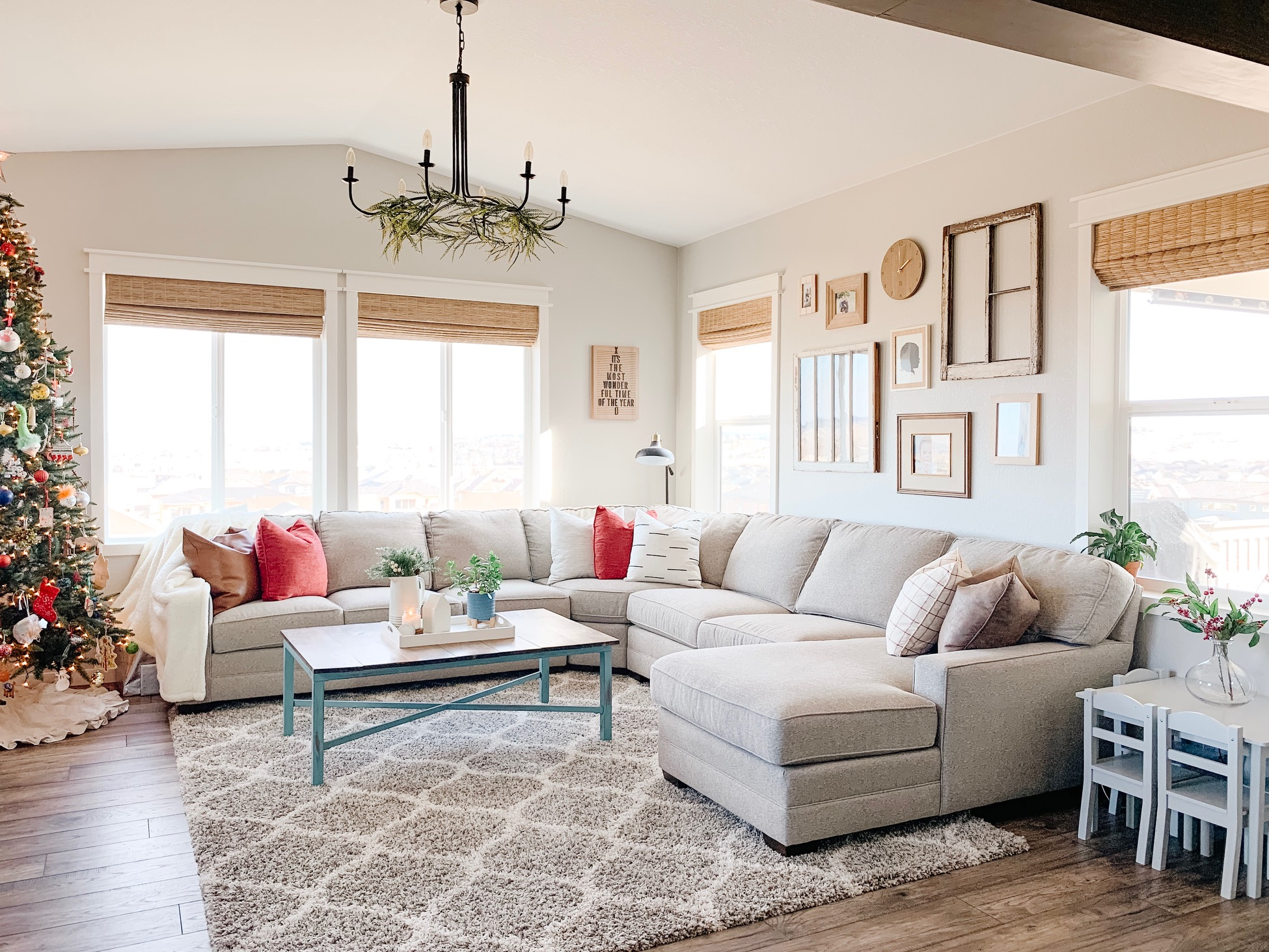 Woodley's Fine Furniture Review of our King Hickory Sectional in Living Room