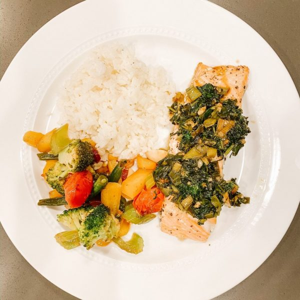 Cilantro Soy Salmon Recipe