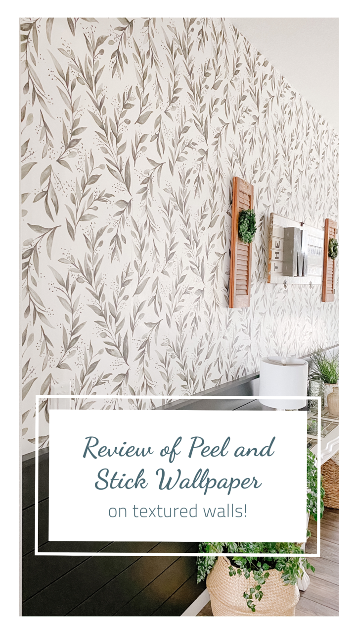 Review Of My Wallpaper On Textured Walls Sprucing Up Mamahood