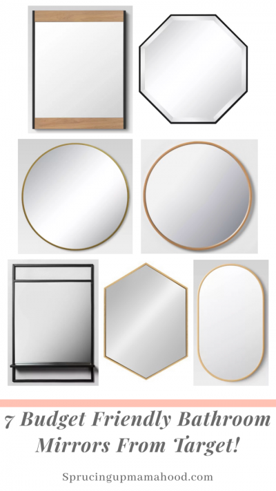7 Budget Friendly Bathroom Mirrors From