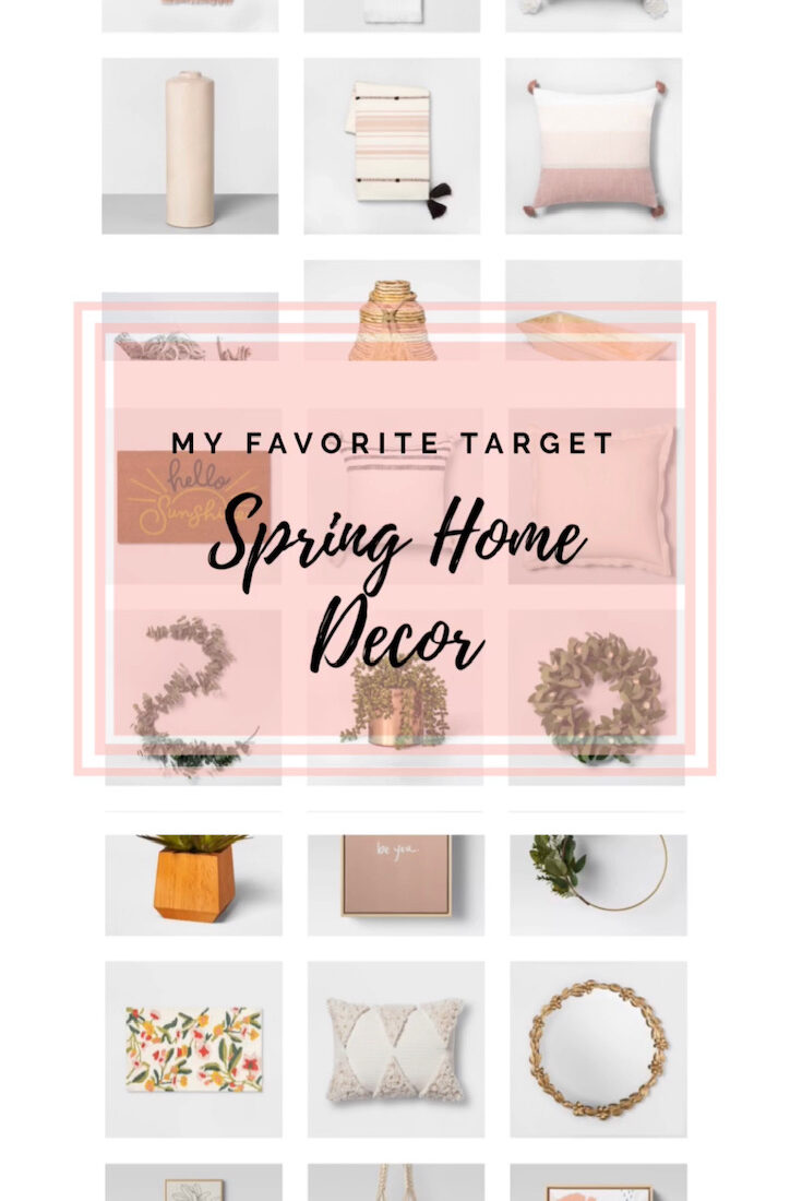 Target Roundup: Home Decor For Spring