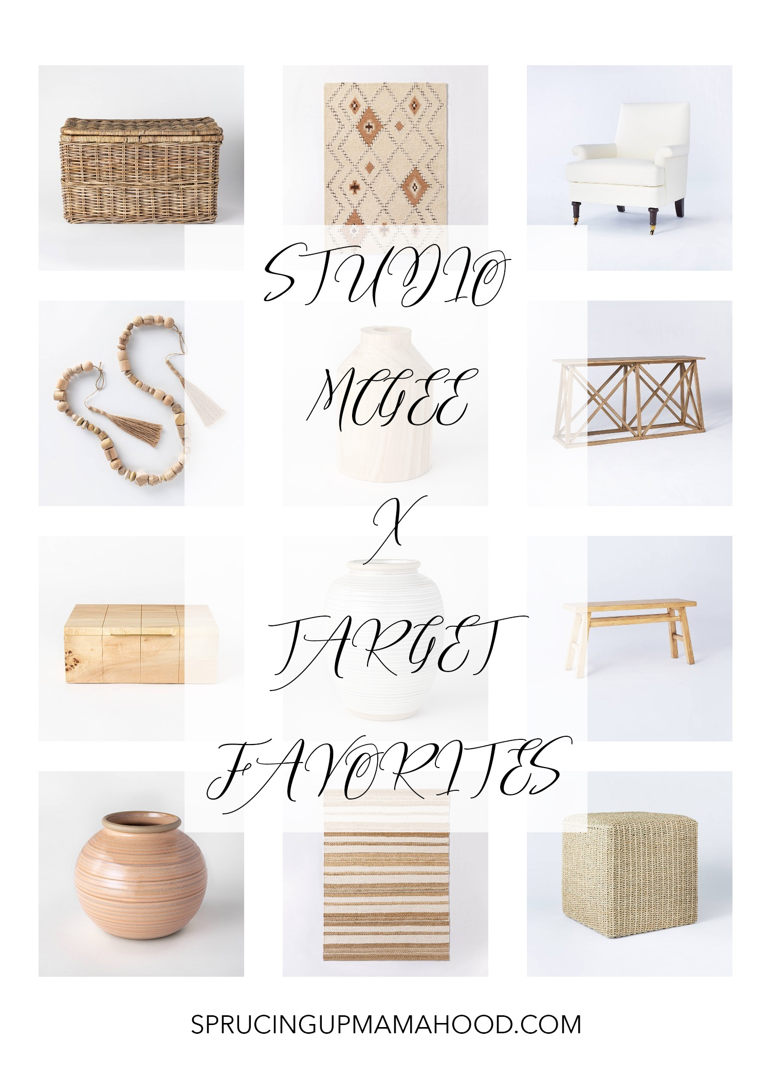 Favorite Home Decor Finds: Studio McGee Collection By Target
