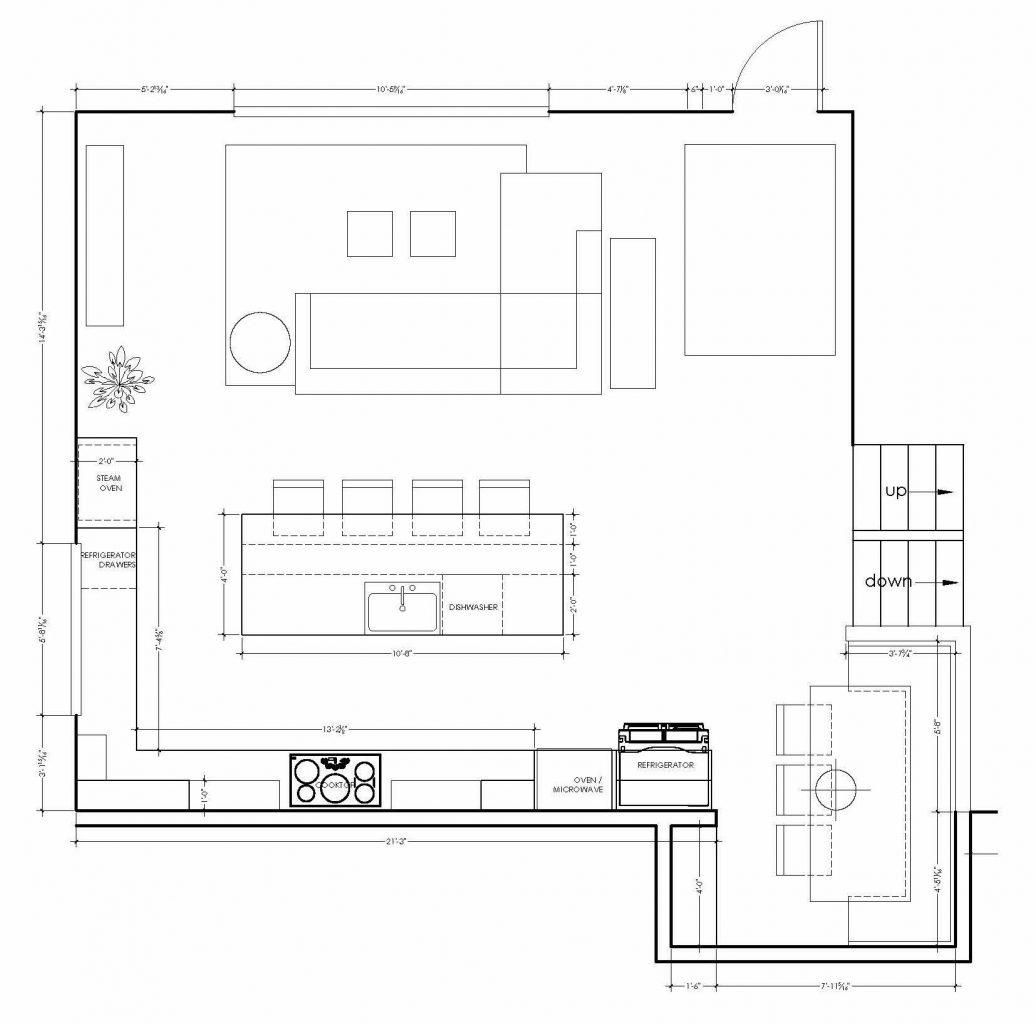 final kitchen layout