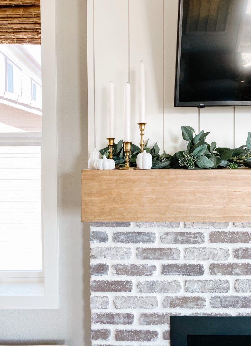 Kaylee's Fireplace Makeover
