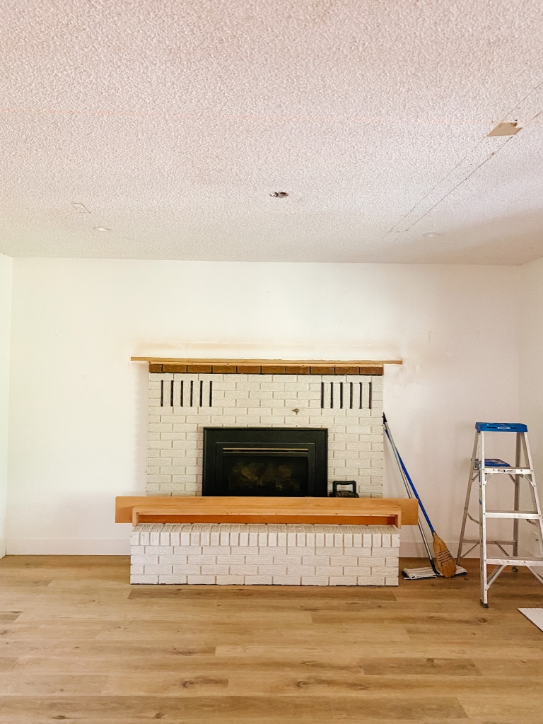 how to cover a popcorn ceiling