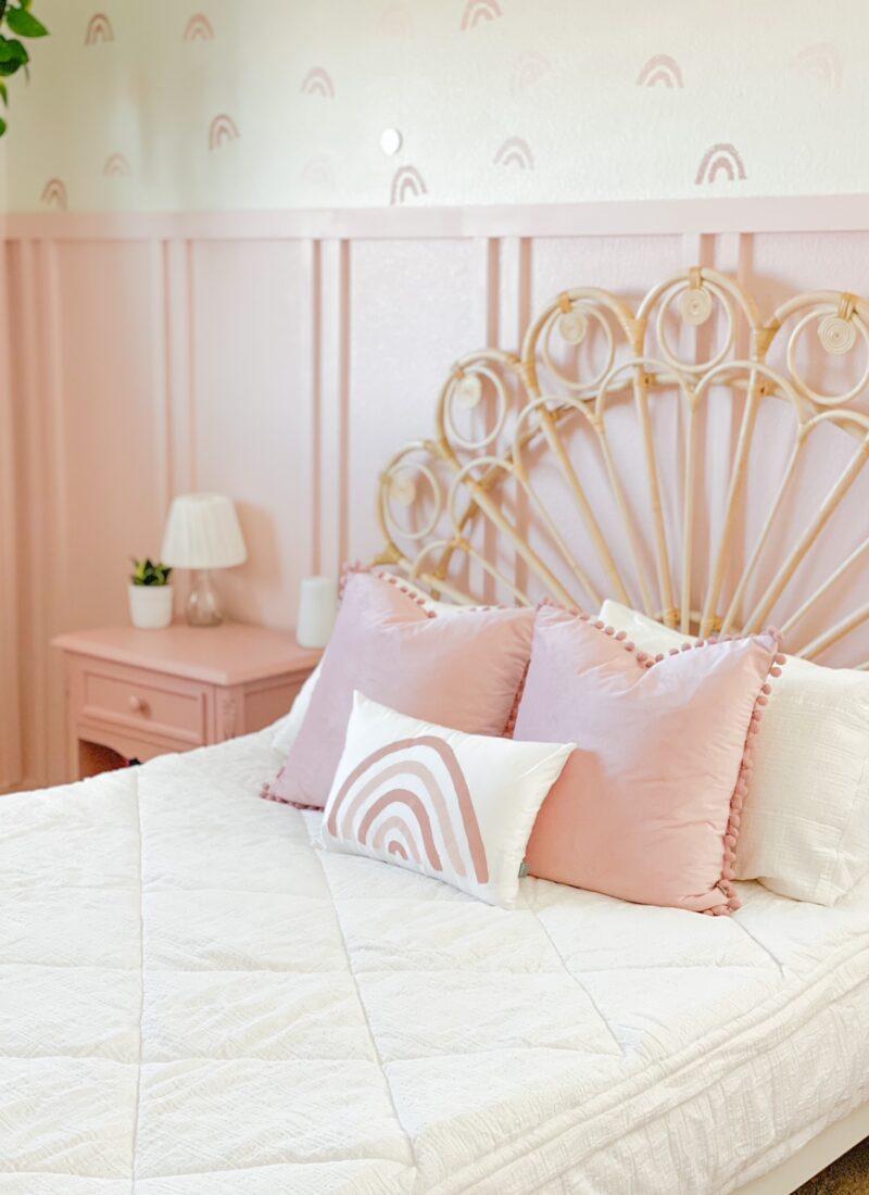 Girls Pink Bedroom Reveal