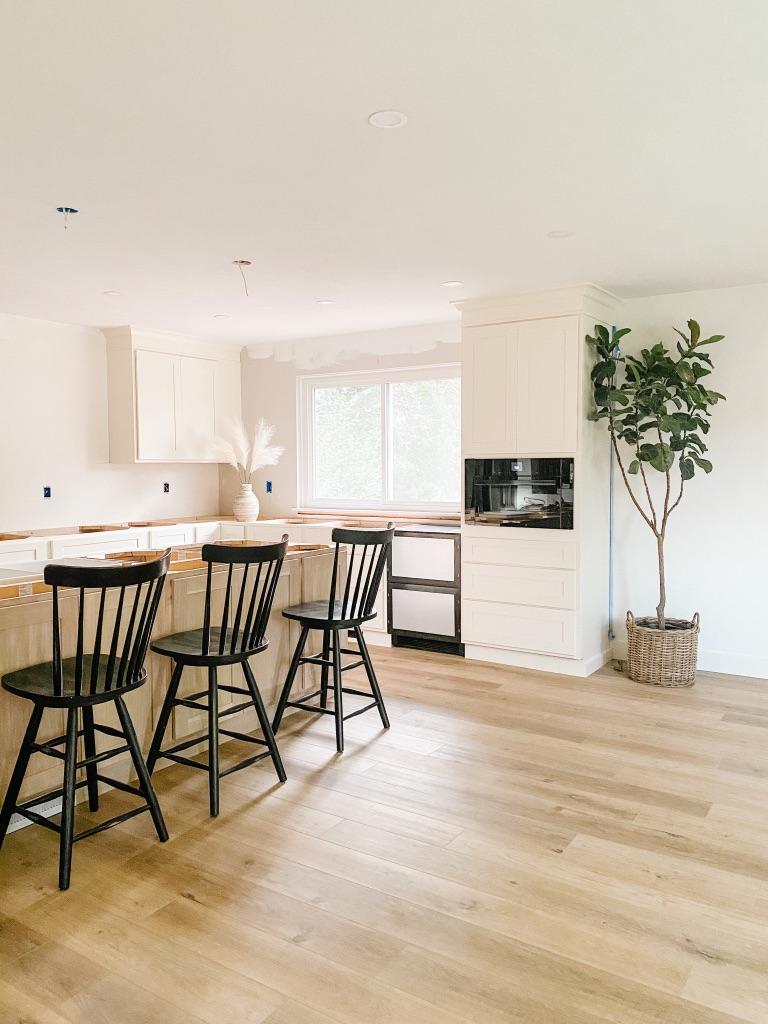 Provenza At Ease LVP Floors in remodeled Kitchen
