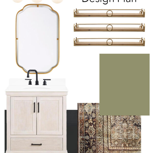 8 Affordable Small Vanity Options & Small Master Bath Remodel