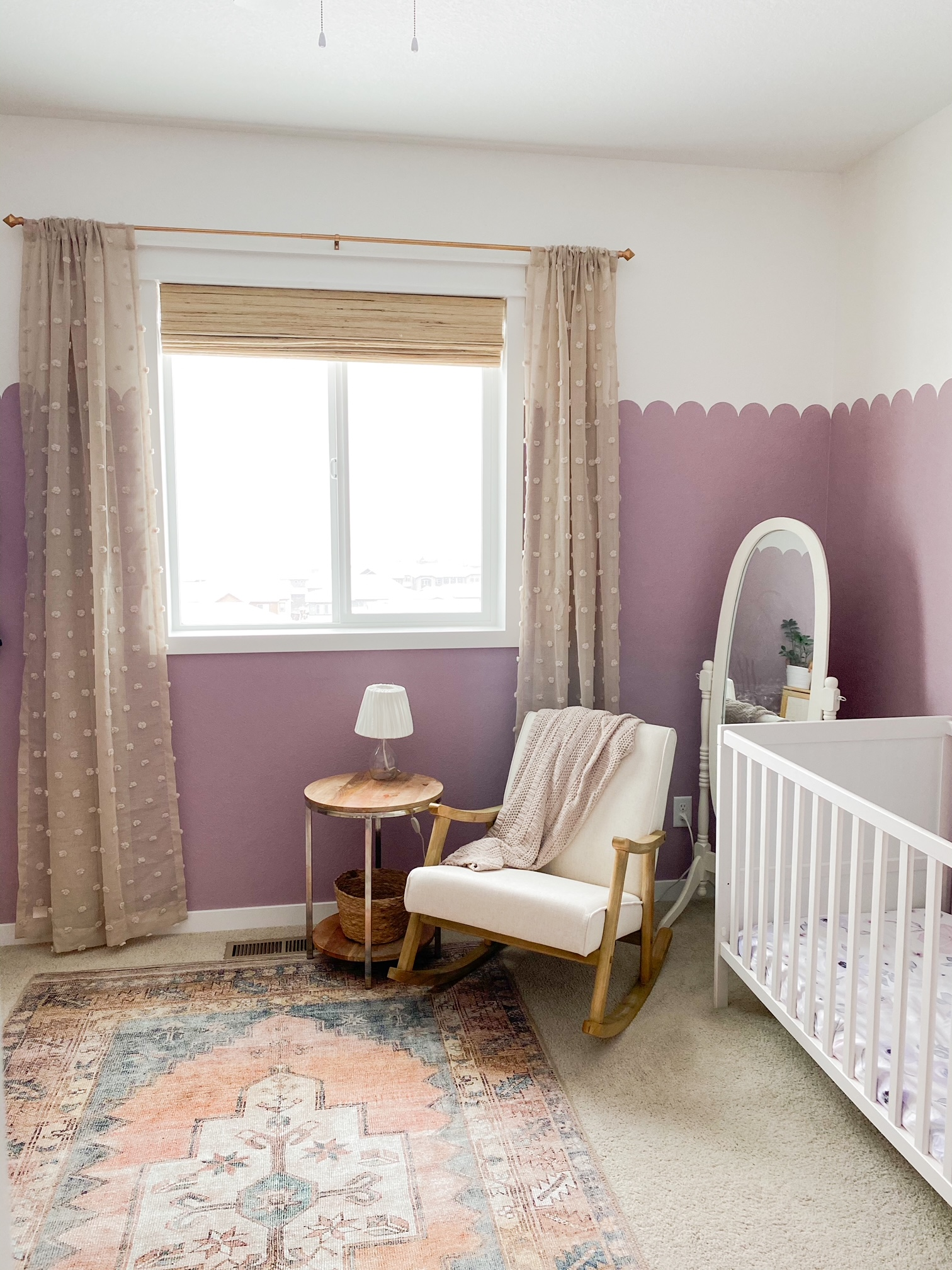 Curtains from Amazon that are perfect for a nursery!