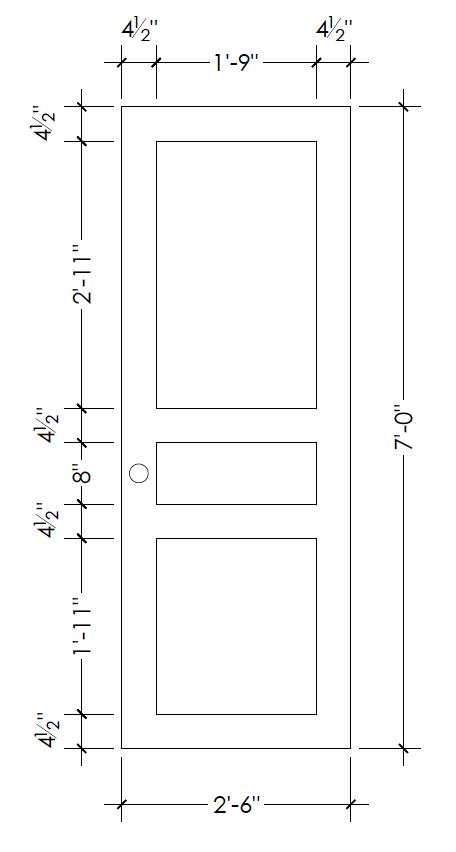 how to plan for DIY door moulding