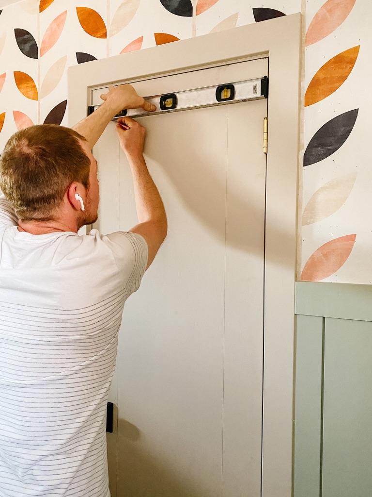 measuring for diy door moulding
