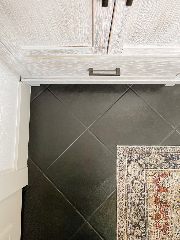 how to paint your old tile floors