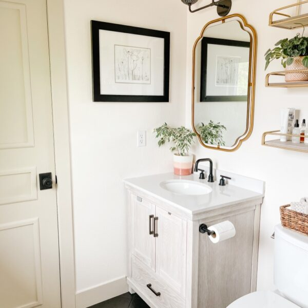 6 Easy & Affordable Small Bathroom Makeover Ideas