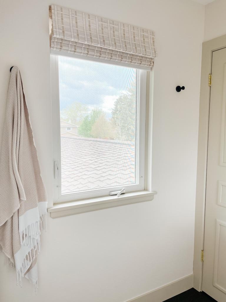 simple black bath hooks for small bathroom update ideas